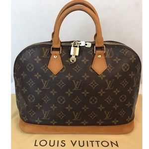Louis Vuitton Bags - 🌺CERTIFIED AUTH. Louis Vuitton Monogram Alma Bag